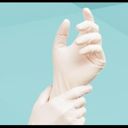 Medizinische Einmalhandschuhe