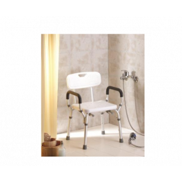 Duschstuhl mit Rücken-und Armlehnen