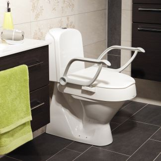 """Toilettsitzerhöhung """"Cloo"""" mit Armlehnen"""