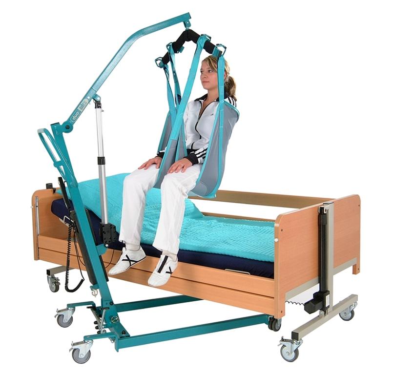 Ladegerät für Patientenlifter Foldy | SANAG Zeichen für